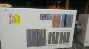 Paloma and noritz tankless water heater for Sale in Thompson's Station, TN