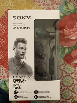 Sony sport headphones for Sale in Round Rock, TX