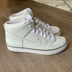 nike dunk high ac qs – white perf 10.5 for Sale in San Mateo, CA