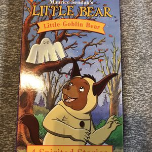 Little Bear Little Goblin Bear VHS for Sale in Elma, WA