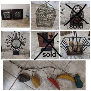 Home Decor $5 each or all 5 for $20. for Sale in Moreno Valley, CA