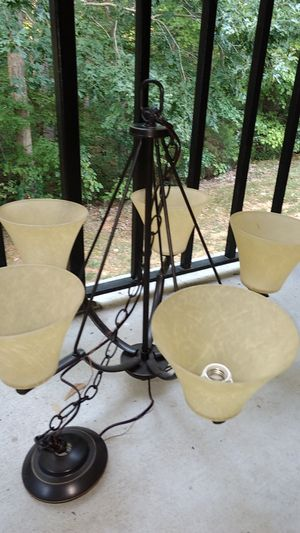 Lovely Like New Chandelier ( or best offer) for Sale in Cary, NC