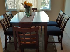Table, carpet, and 6 chairs. for Sale in Arlington, VA