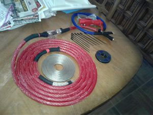 1/0 AWG OFC SILVER TINNED MARINE GRADE PURE copper CABLE for Sale in Queen Creek, AZ