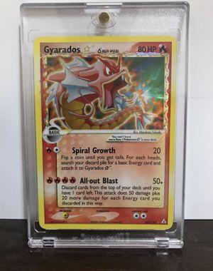 Pokemon- Gyarados Gold Star for Sale in Garland, TX