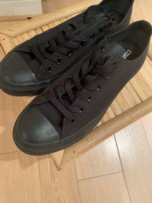 Black Converse Men's Size 8 Women's Size 10 for Sale in Arlington, VA