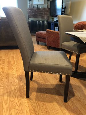 Set of 4 cushion chairs for Sale in Arlington, VA