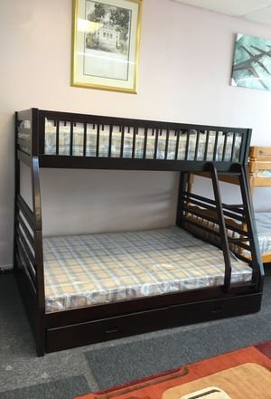 New full over twin bunk bed mattress included for Sale in Nashville, TN