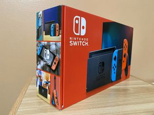 Nintendo Switch 32GB Neon Red/Blue for Sale in Silver Spring, MD