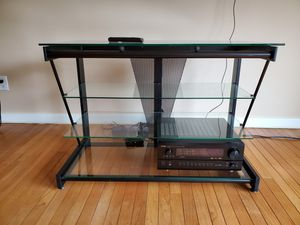 "42 ""Plasma TV, Glass Stand, Home Theater for Sale in Center Valley, PA"