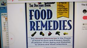 Food Remedies, Book, 1998 for Sale in Fayetteville, NC