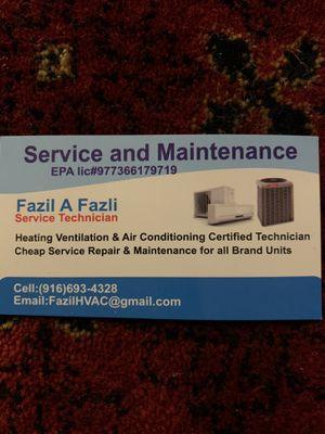 A/C & Refrigeration Technician for Sale in Sacramento, CA