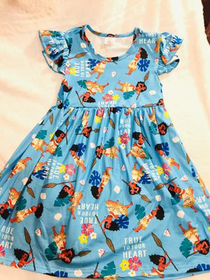 6x and 8yrs blue moana dress $15 each for Sale in National City, CA