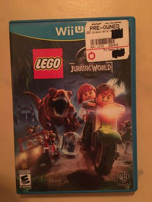 Nintendo Wii U LEGO Jurassic world for Sale in Visalia, CA