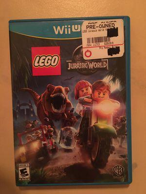 Nintendo Wii U LEGO Jurassic world for Sale in Visalia, CA