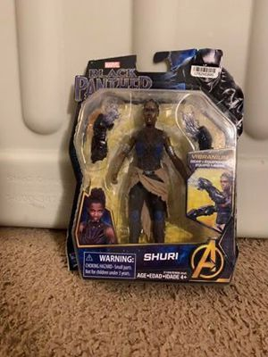 Hasbro Marvel Black Panther Shuri Action Figure for Sale in Mount Bethel, PA