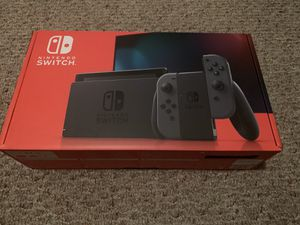 Brand New Nintendo Switch with Gray Joy-Con for Sale in Hayward, CA