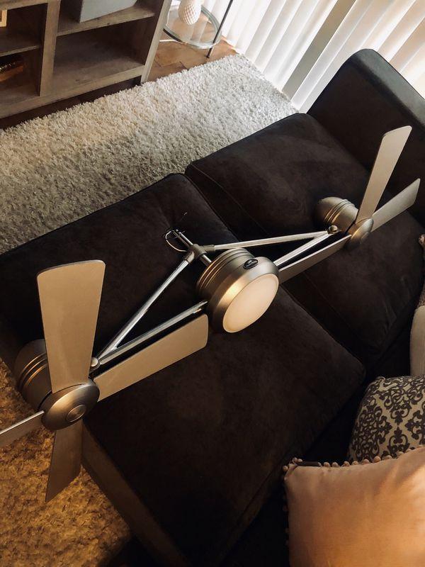 """Harbor Breeze 52"""" Ceiling fan dual blade"""