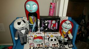 Bundle of Nightmare Before Christmas Collectable Item's (PLUSH OUT) for Sale in Round Rock, TX