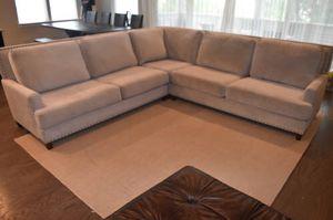 "Luxury corner couch. Norwalk ""Linkin"" model. 115""x115"" for Sale in Ashburn, VA"