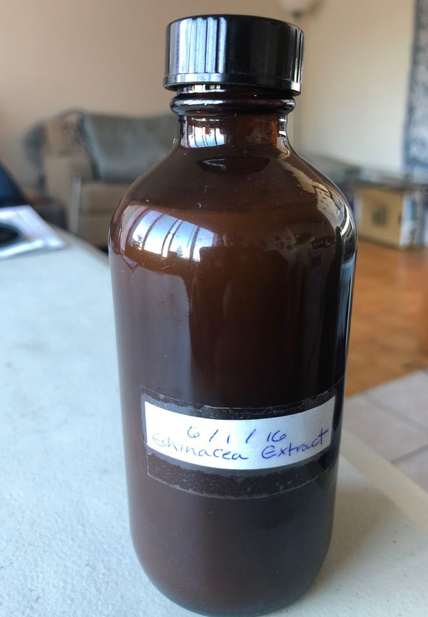 Echinacea extract/ immune system booster.