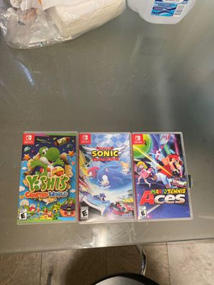 Nintendo switch games! (Last 3) bundle and save or separate! for Sale in Tempe, AZ