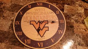 14 in West Virginia Mountaineer clock for Sale in Roanoke, VA