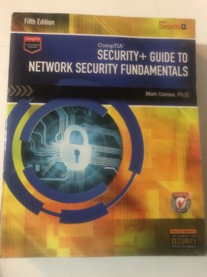 Security and guide to network security fundamentals for Sale in San Antonio, TX