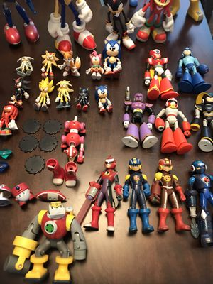 SONIC / MEGAMAN WORLDS COLLIDE LOT* for Sale in Fresno, CA