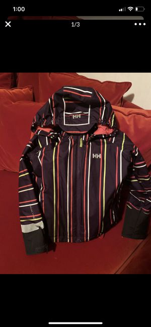 Girls Halley Hansen ski coat size 7/8 kids in great condition for Sale in Washington, DC