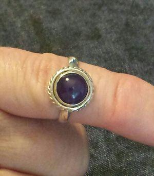 Bali Russian Chaorite Ring in Sterling Silver for Sale in Lawrenceville, GA