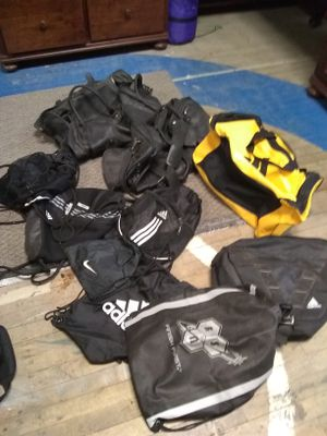 Nike n Adidas gym work out duffle bags n back packs for Sale in Cleveland, OH