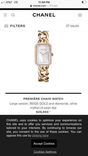 Chanel watch good price great piece.. for Sale in Dallas, TX