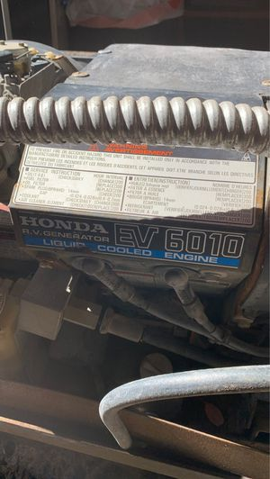 Honda rv generator ev6010 for Sale in San Lorenzo, CA