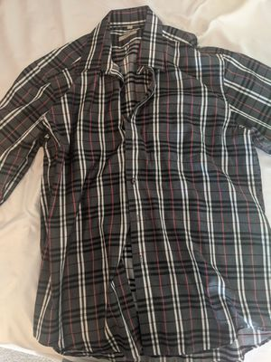 Burberry long sleeve shirt for Sale in Irwindale, CA