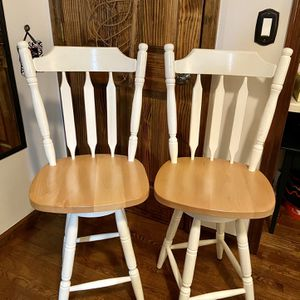 Wooden Bar Chairs for Sale in Bristol, CT