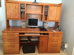 Desk with Hurch for Sale in Palmdale, CA