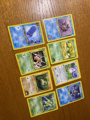 1st edition pokemon card lot. - read for Sale in Raleigh, NC