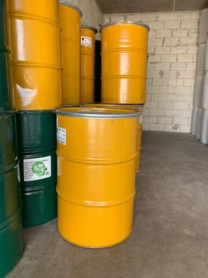 55 gallon metal drums open tops for Sale in Miami, FL