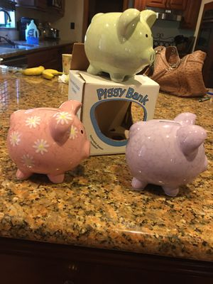 New in Box Piggy Bank(s) for Sale in Lake Wales, FL