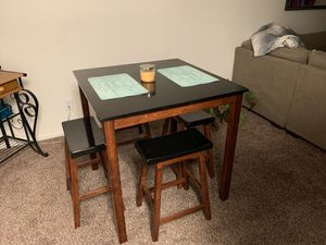 Moving sell dining table dining hutch microwave kitchen utensils etc. couch for Sale in Clovis, CA