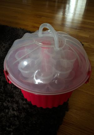 Cupcake holder - 24 count for Sale in Lockport, IL
