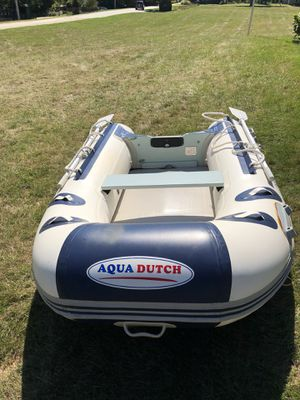 Aqua Dutch inflatable boat-get ready for Spring! for Sale in Westport, MA