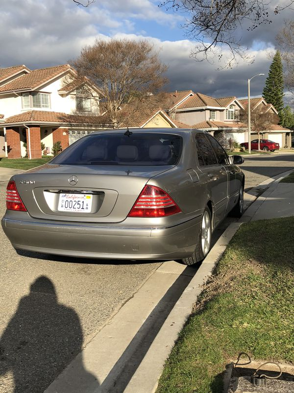 2004 Mercedes-Benz S500 (Clean title)
