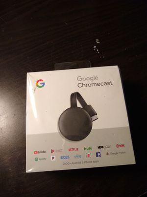 Google Chromecast(Unopened Box) for Sale in Moreno Valley, CA