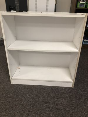 23 x 30 bookcases black and white ones for Sale in Woodinville, WA