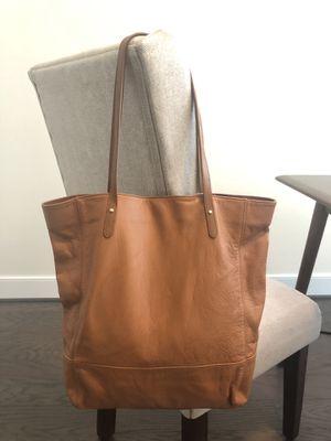 Authentic Ralph Lauren Tan Leather Tote Bag for Sale in Alexandria, VA