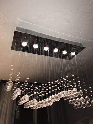 Modern Crystal Ball Chandelier for Sale in Lakewood, OH