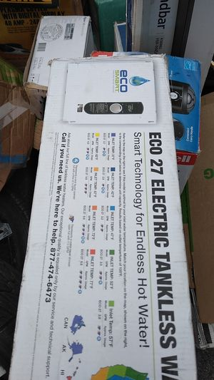 ***Eco smart electric tankless water heater we r*** for Sale in Hunts Point, WA