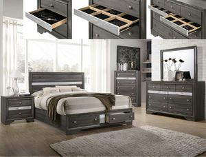 5-Drawer Chest, Gray for Sale in Santa Ana, CA